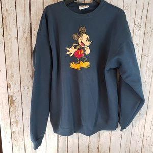 Walt Disney Store Mickey crewneck Sweatshirt
